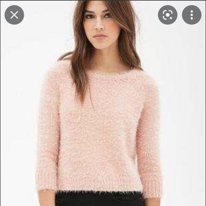 Stars Above Fuzzy Sweater
